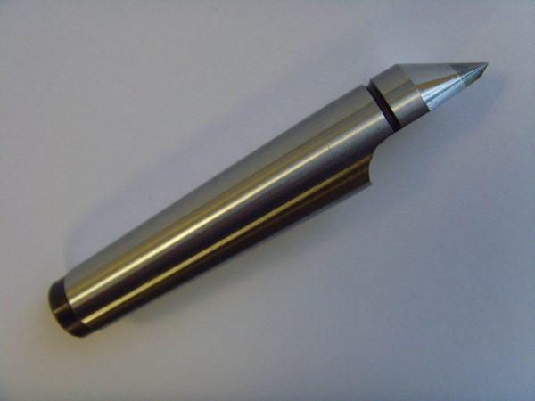 No 2 Morse Taper Carbide Tip Half Centre NEW