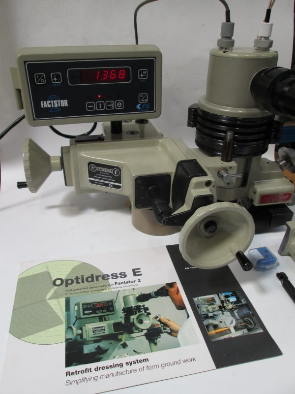 OPTIDRESS E Factstor 2 Wheel Forming Attachment. 2008 Unit