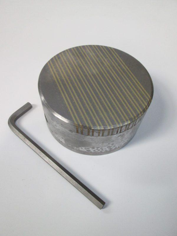 5″ Dia Close Pole Circular Magnetic Chuck