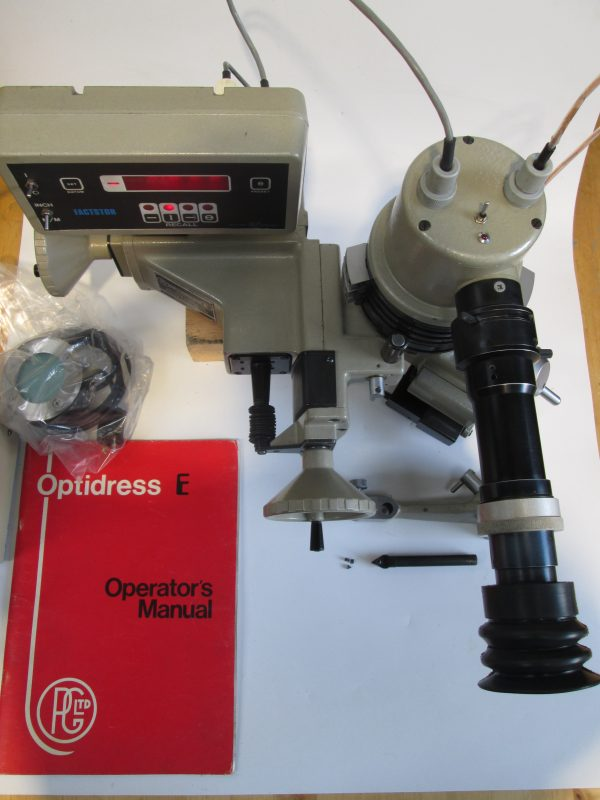 OPTIDRESS E Wheel Forming Attachment Imperial
